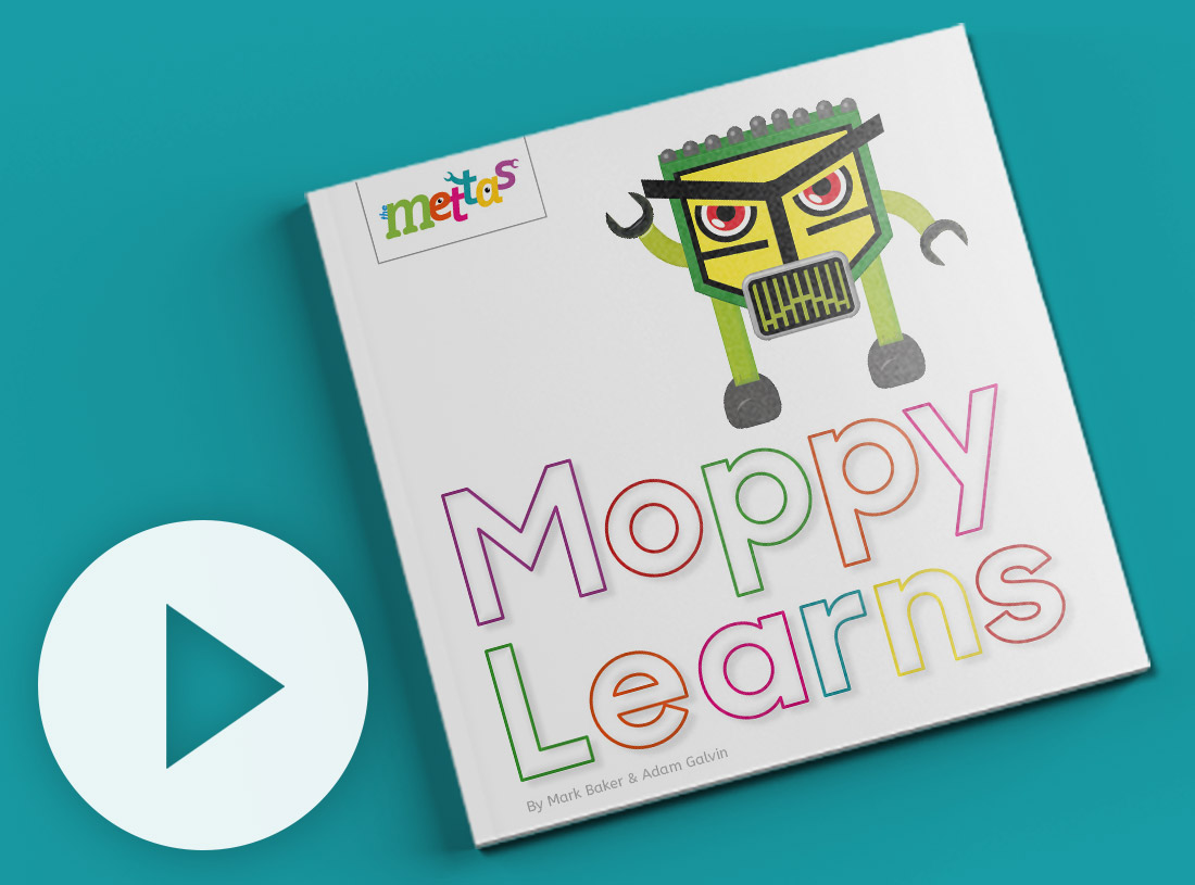Moppy Learns Book